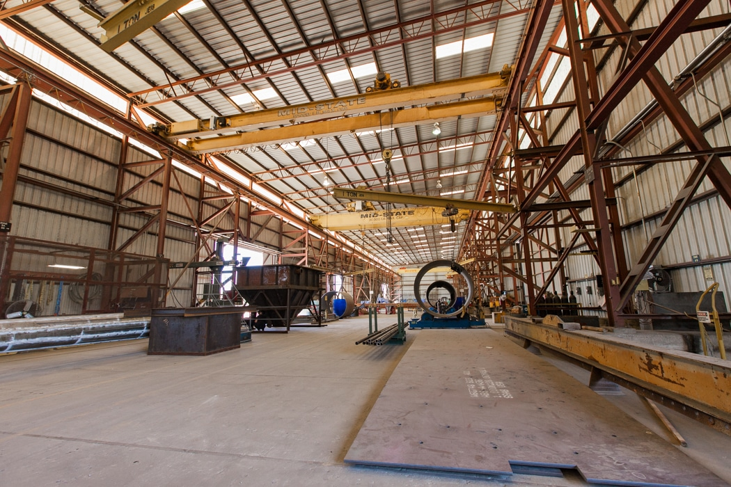 mid-state industrial maintenance facility