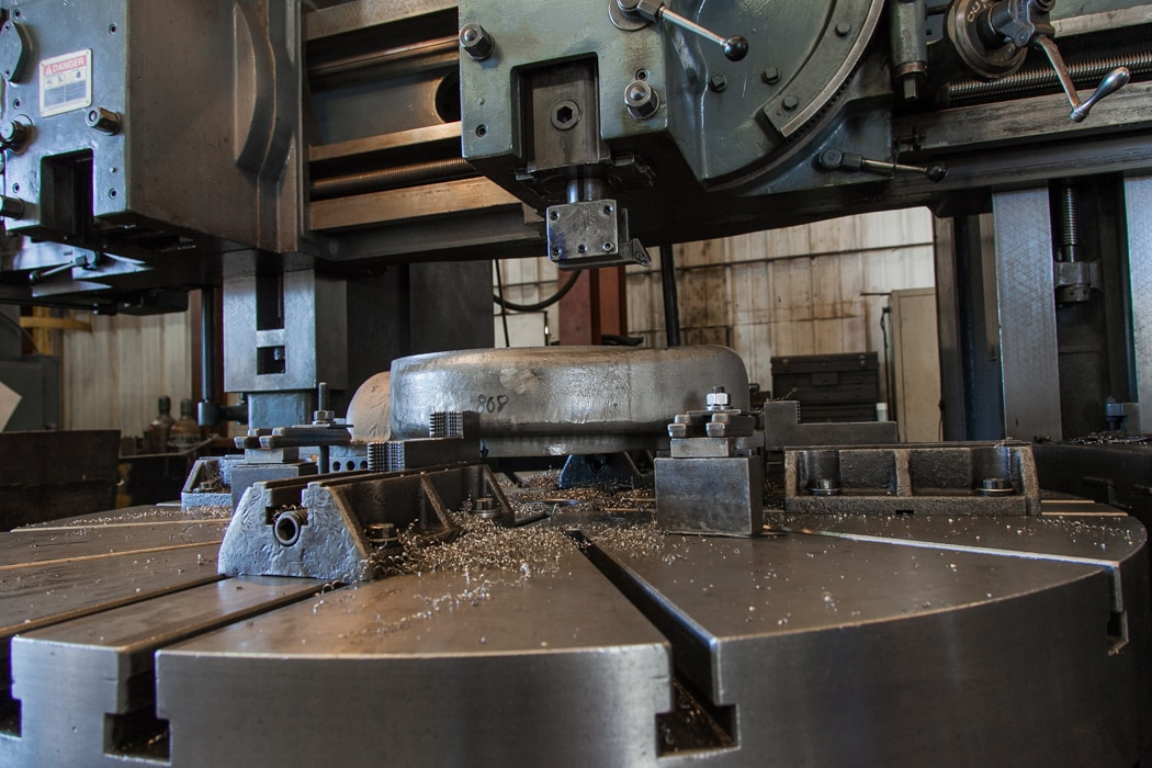 mid-state industrial machining facility