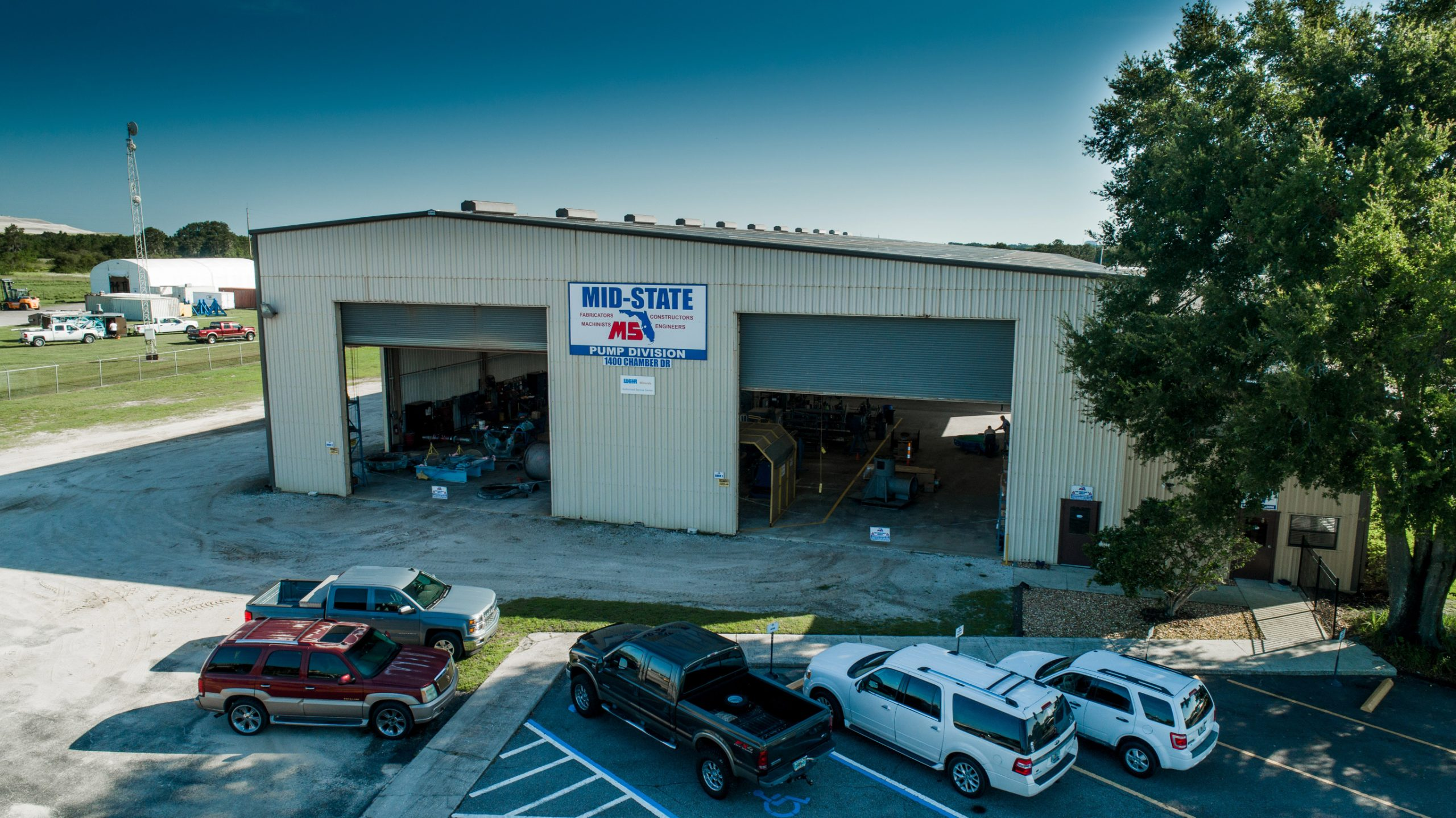 mid-state industrial pump division shop bartow florida