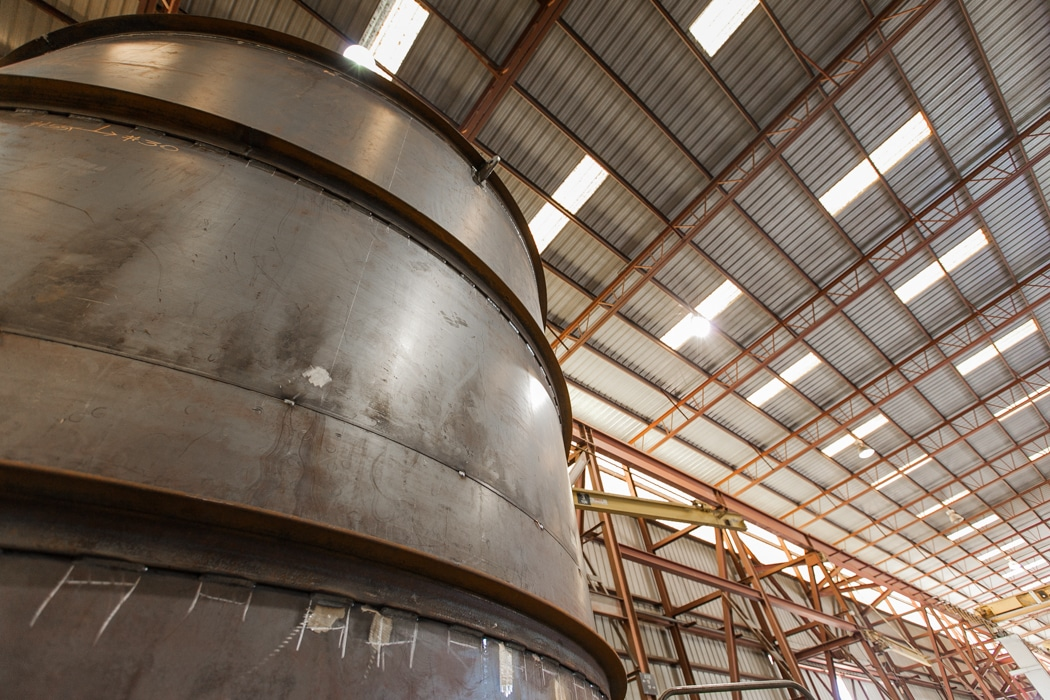 mid-state industrial fabrication facility
