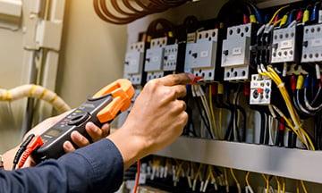 maintenance on electrical board