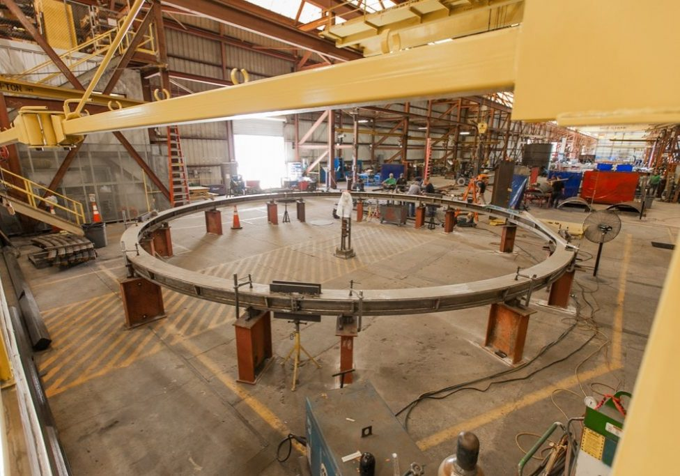 chemical processing plant car frame fabrication and installation project in lakeland florida