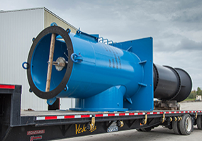 Industrial pump repair project in forney texas